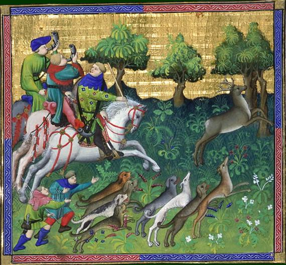 Livre de chasse, Gaston Phebus, 1400-luku